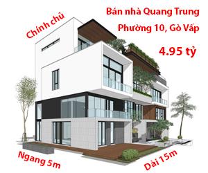 Bán nhà Quang Trung