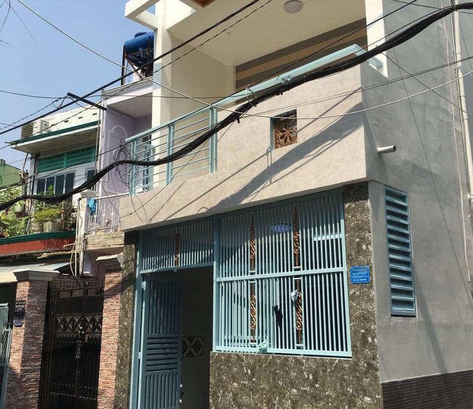 Bán nhà Gò Vấp 1 trệt 1 lầu