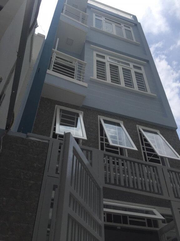 Bán nhà Gò Vấp 1 trệt, 1 lửng, 2 lầu, ST